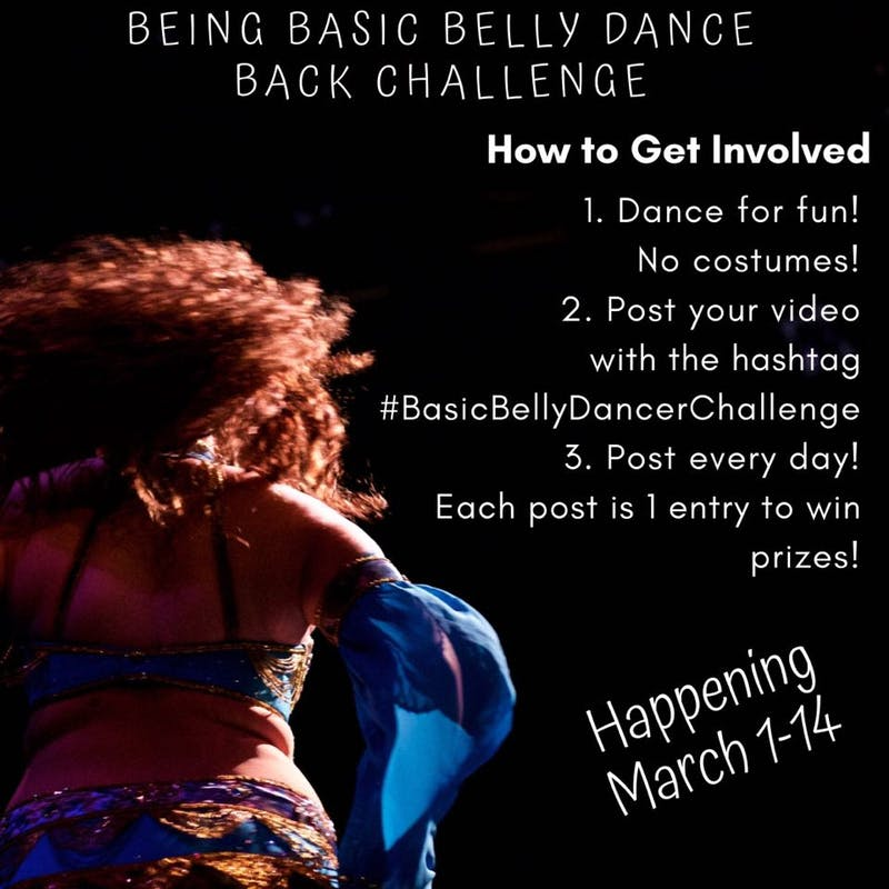 March into the Spotlight: Bring Basic Belly Dance Back Challenge