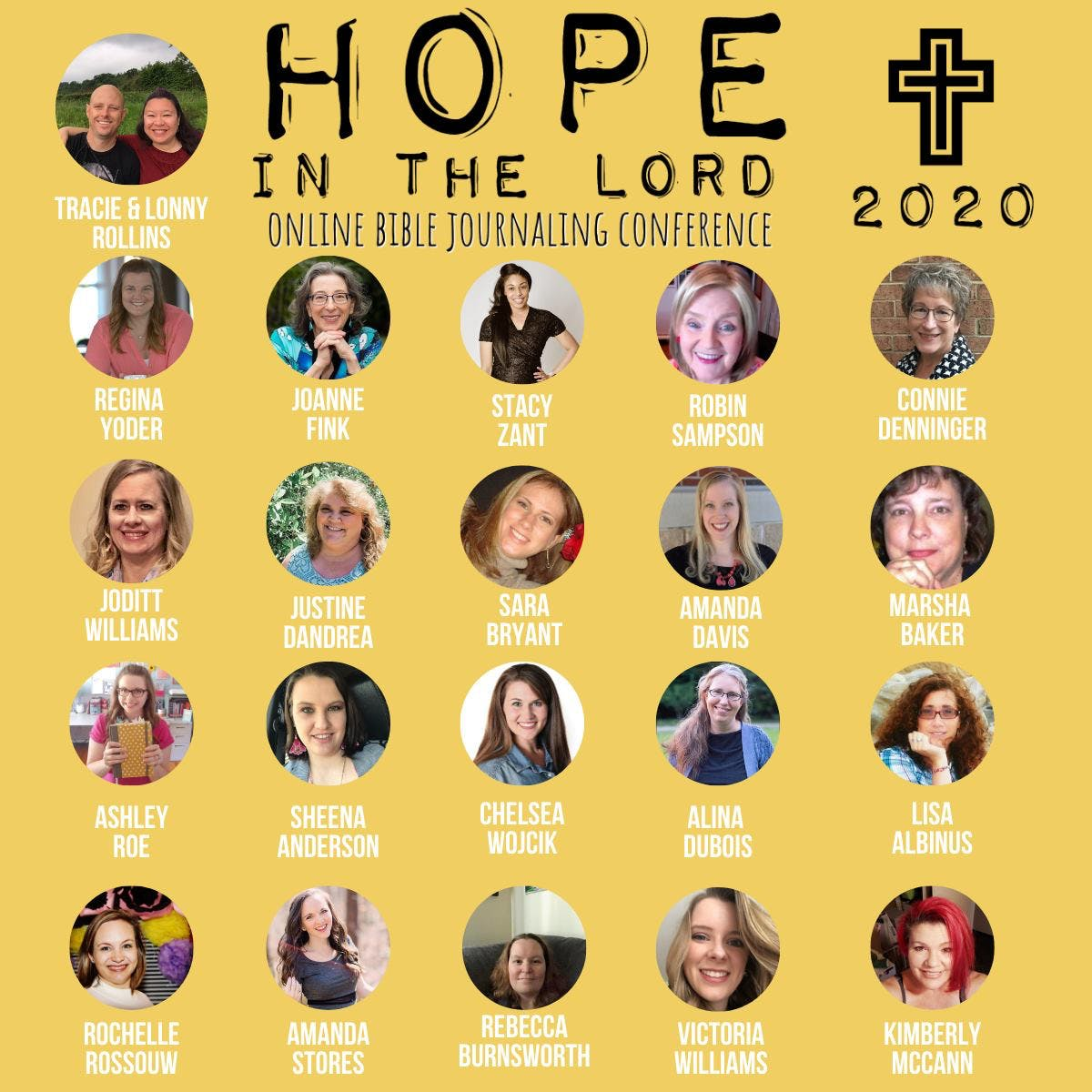 Hope in the Lord Conference 2020 Speakers