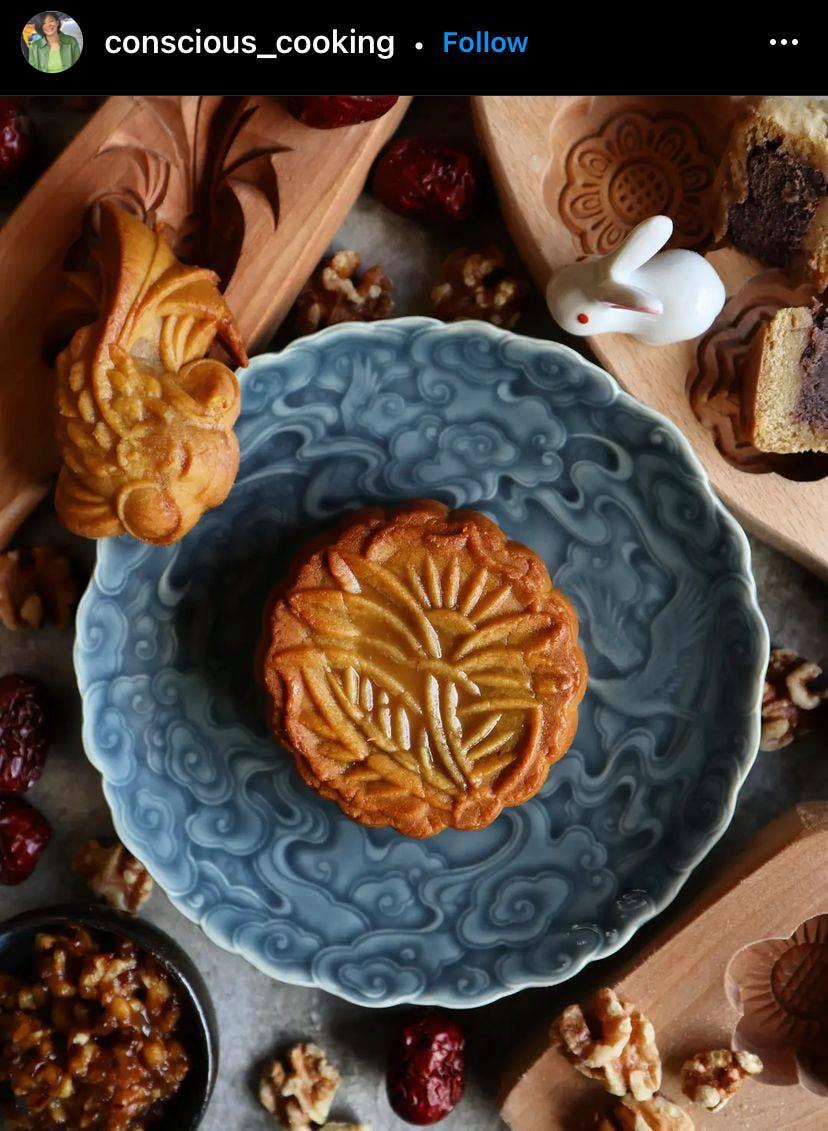 Image of a mooncake