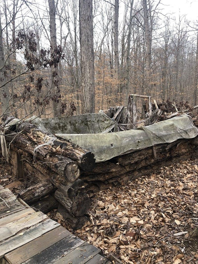 Deteriorating Cabin