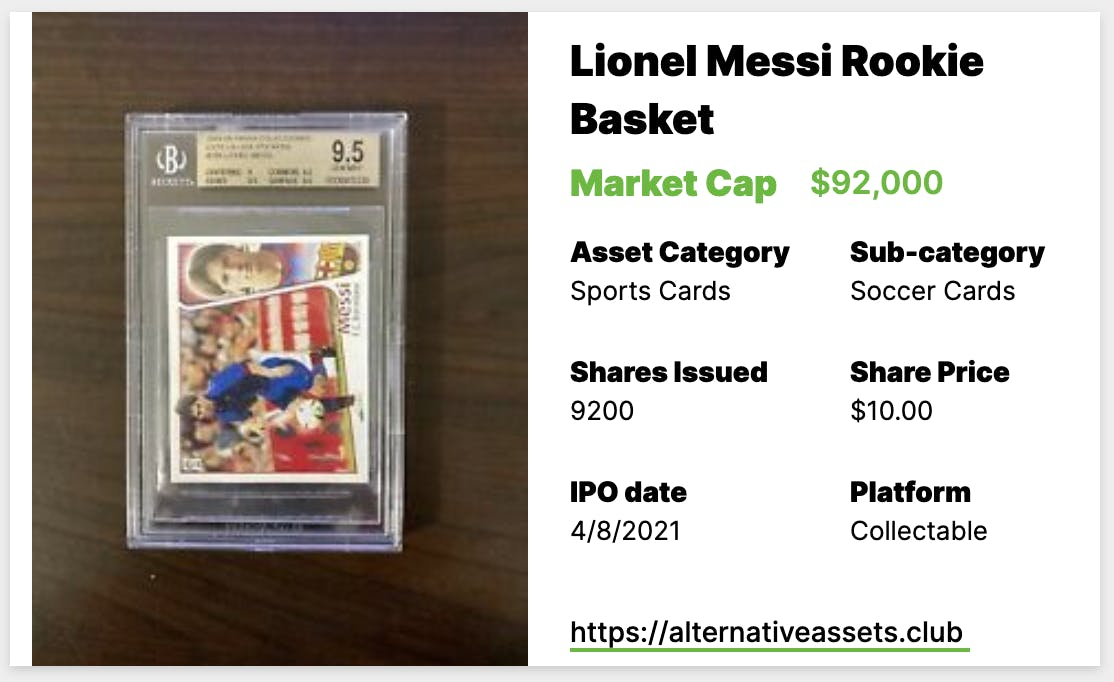 messi basket collectable