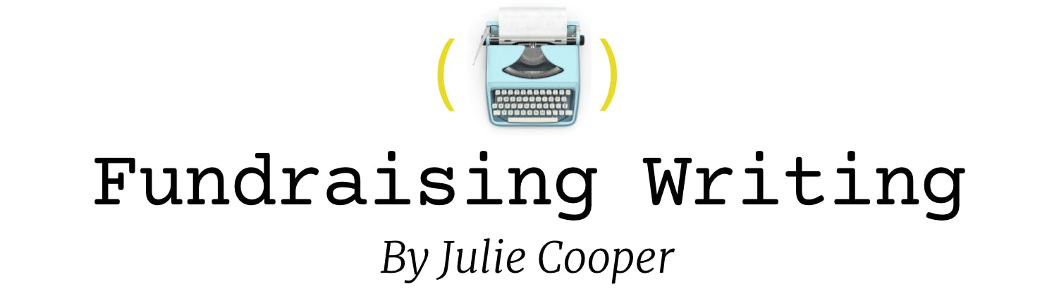 The fundraising writing newsletter about your donor communications