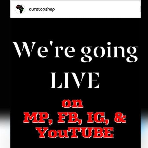 8:00pm EST TUNE IN! It's that day of the week again!  Discussing the upcoming weekend of Black Flea market events, business strategies & the rollout of the FREE 11 MONEY SAVING & INCOME GENERATING HACKS MASTERCLASS: http://ourstopshop.com/freemasterclass  FOLLOW @OurStopShop to see all of the tips and info constantly shared! 👇🏿  https://www.facebook.com/OurStopShop https://www.youtube.com/watch?v=0oejAharxOE https://instagram.com/OurStopShop https://twitter.com/Our_StopShop http://melanatedpeople.net/OurStopShop https://ourstopshop.com  #tunein  #goinglivesoon #credit #blackwealth #blackeconomicempowerment #blackempowerment #credittips #blackwallstreet  #stimulus #blackdollar #wealthmindset #credithack #generationalwealth #moneyhacks #financialfreedom #fortheculture #supportblackbusinesses  #supportblack #stimuluscheck #ReturnonInvestment  #knowledgeispower  #blackhealth #blacklove #blackinvestors #blackhealthmatters #stimuluspackage #blackjoy #passiveincome #Blackbusiness #Blackentrepreneur