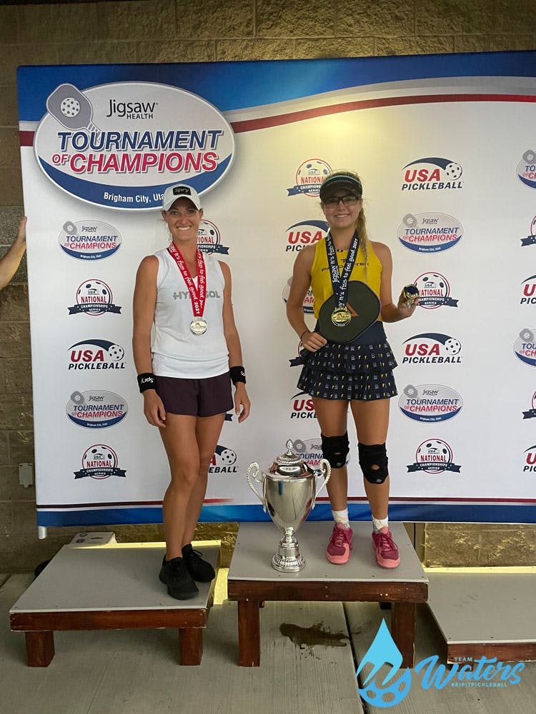 Waters Spotlight - Team Waters Wins On & Off the Pickleball Court at Tournament of Champions   Pickler Pickleball