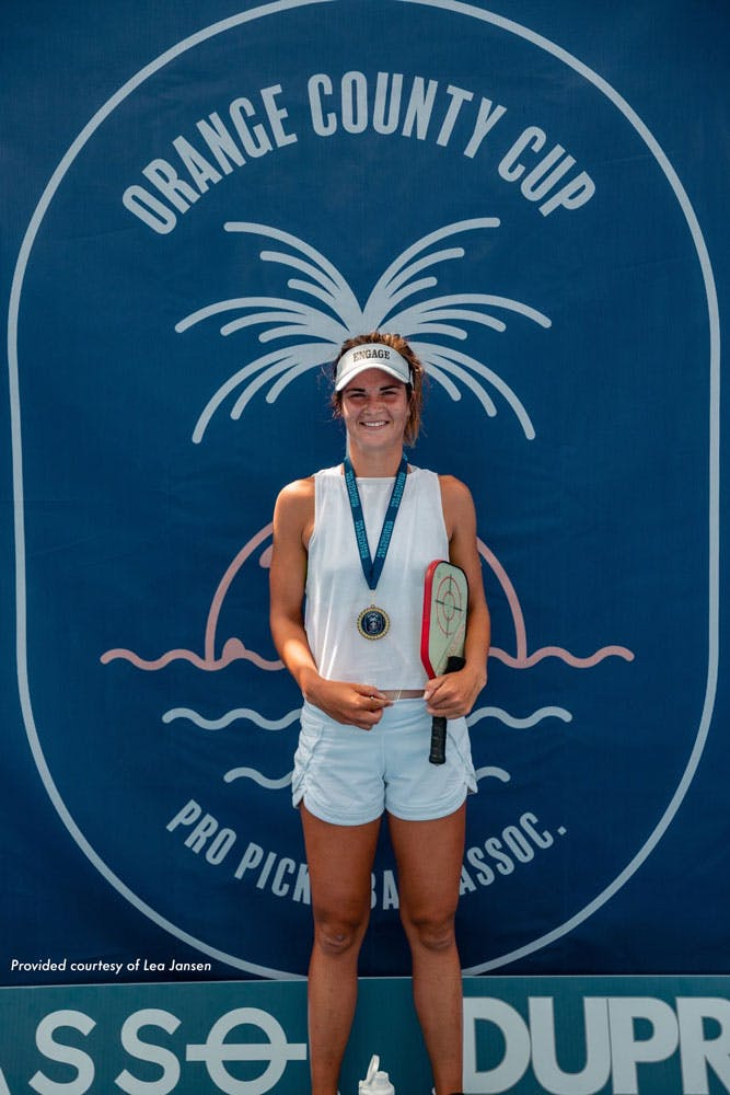Pro Pickleball Player's Success After Focusing on Mental Health & the Mental Game
