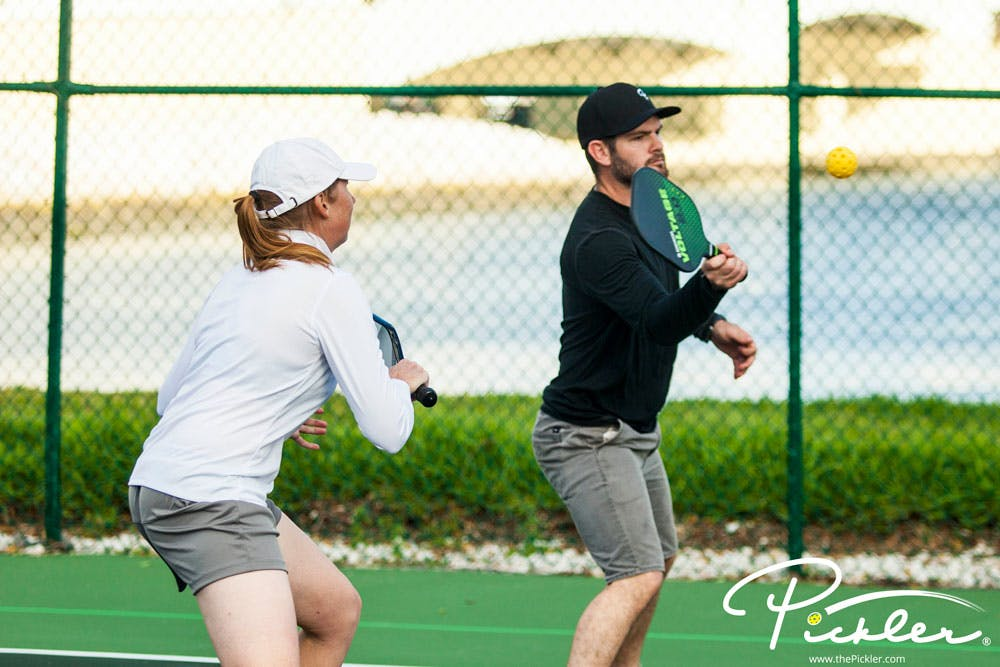 Why the Middle Is the Best Pickleball Strategy   Pickler Pickleball