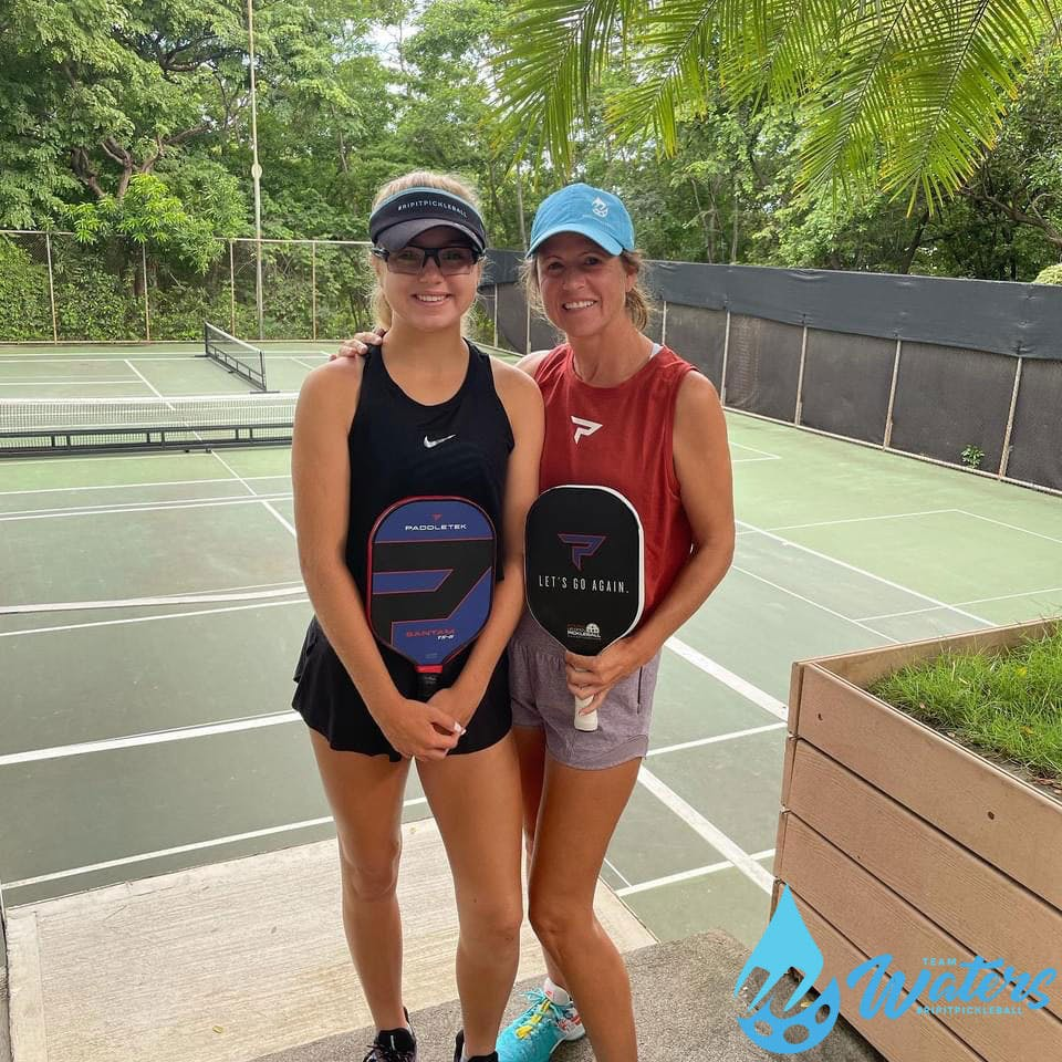 Team Waters Takes Pickleball on Vacation in Costa Rica   Pickler Pickleball