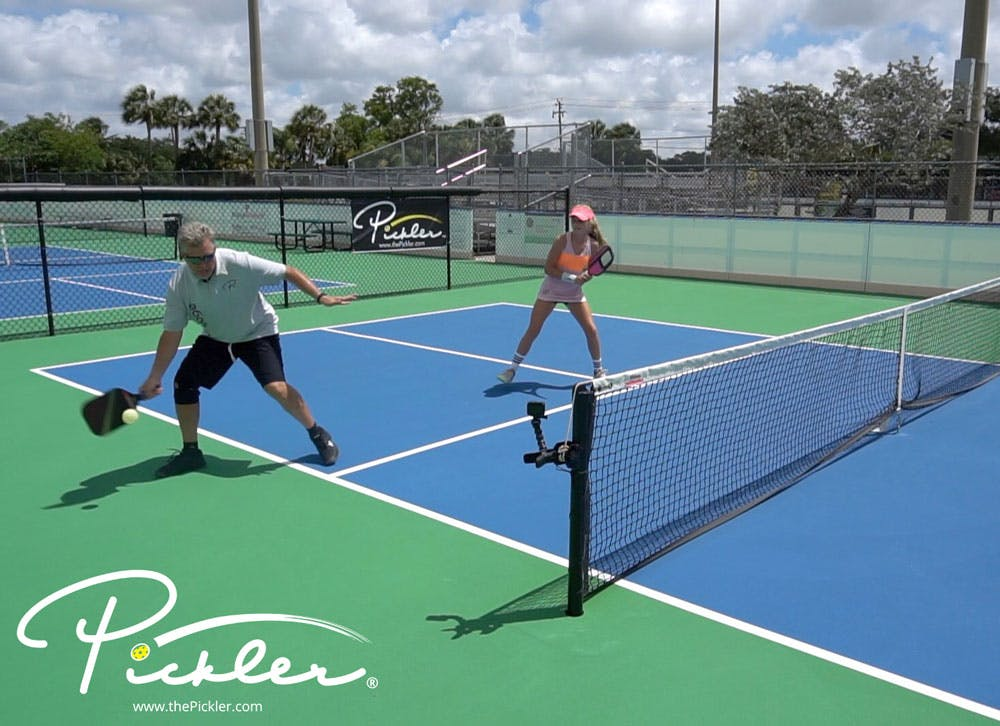 What to Do When You Are Pulled Out Wide on the Pickleball Court   Pickler Pickleball