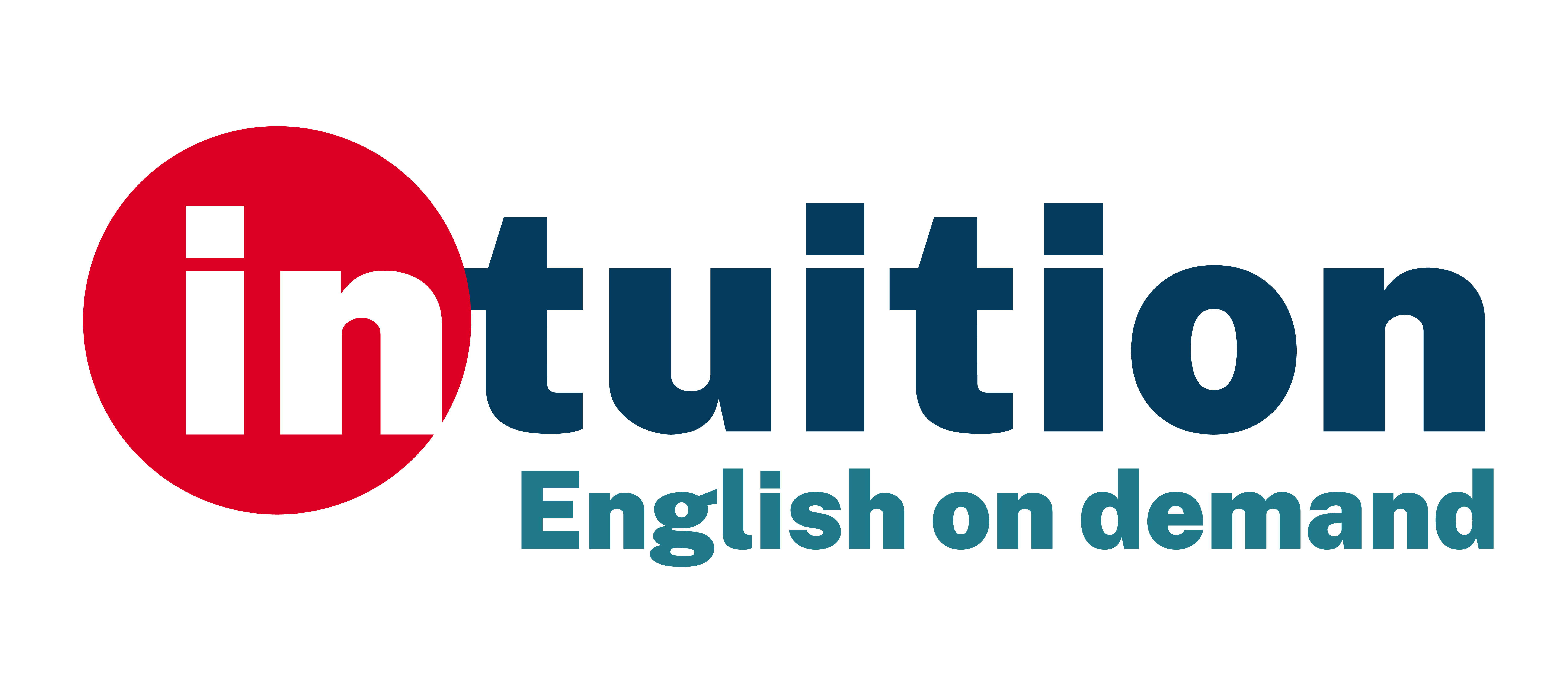 intuition English on demand