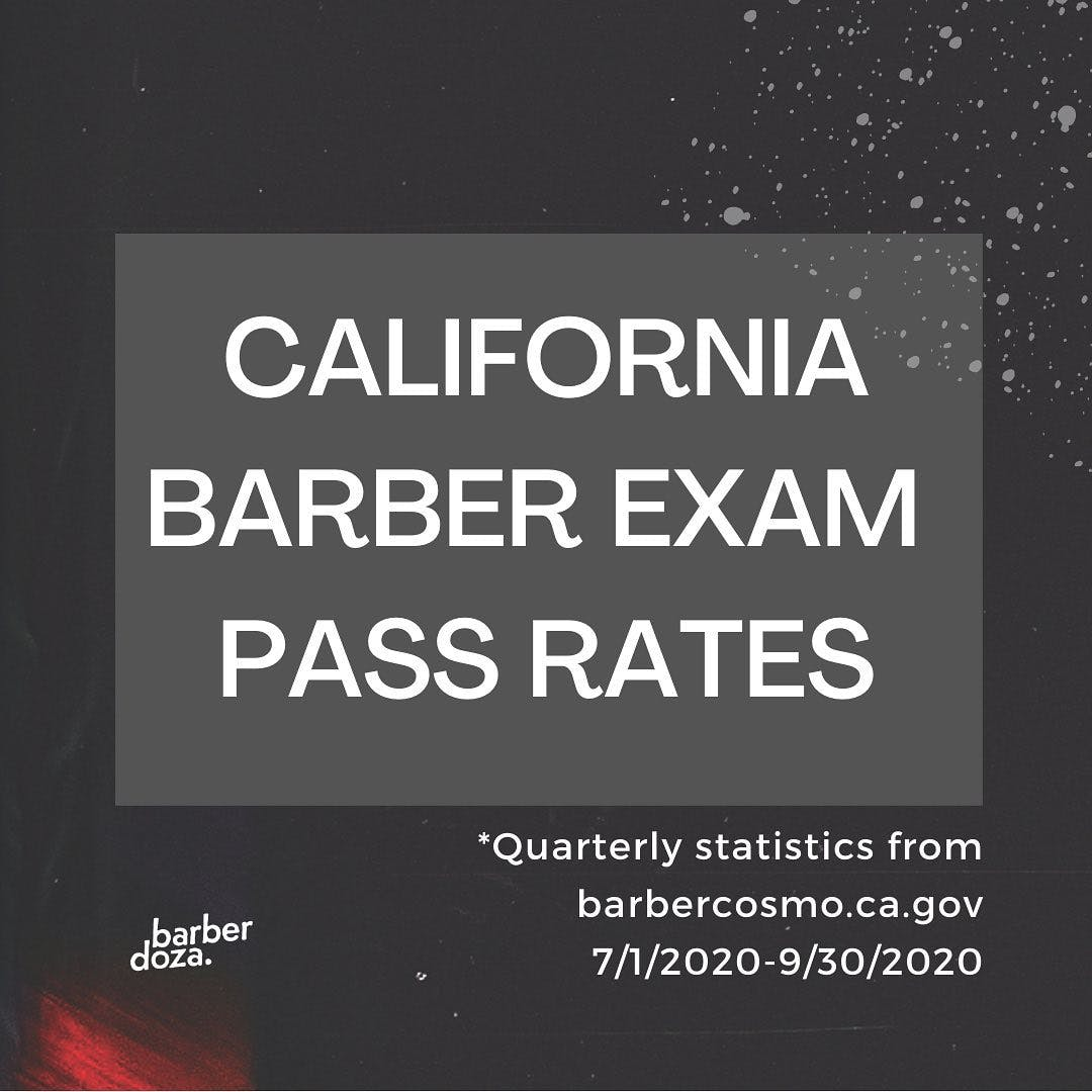 I don't know why these pass rates bother me so much, but they do. . Since the pandemic and my newborn son, I haven't been cutting hair as much which has given me time to look at aspects of our industry that need help. I discovered these statistics and it bummed me out. . So I did an IG live exam prep workshop, then a barber college virtual workshop, then did a 1-on-1 tutoring phone call. I received positive feedback on my advice, so decided to start creating content focused on this topic. I've been creating resources, just launched a YouTube channel and am working on an online prep course.  . In the meantime, I'll be doing more IG lives, teaching more workshops and offering more 1-on-1 help. If you know anyone who is looking for some help prepping for their exam, feel free to let them know. I'd be happy to help!  . #barbercollege #barberstudent #barbertutorials #barberexam #barberexamreview #barbershop #barberlife