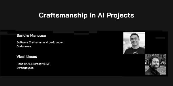 Craftsmanship in AI Projects