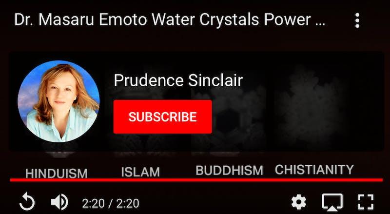 Dr Masaru Emoto Water Crystals Power