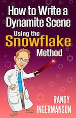 Cover art for How to Write a Dynamite Scene Using the Snowflake Method