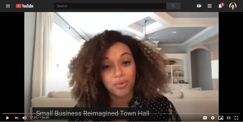 Small Business Reimagined Town Hall