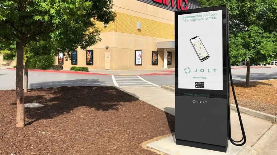 Jolt's charging station