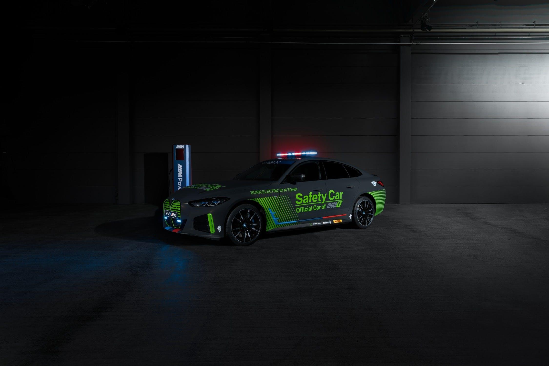 BMW Safety car electric