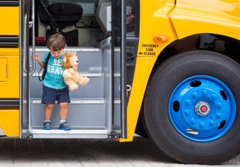 Lion Electric's school bus