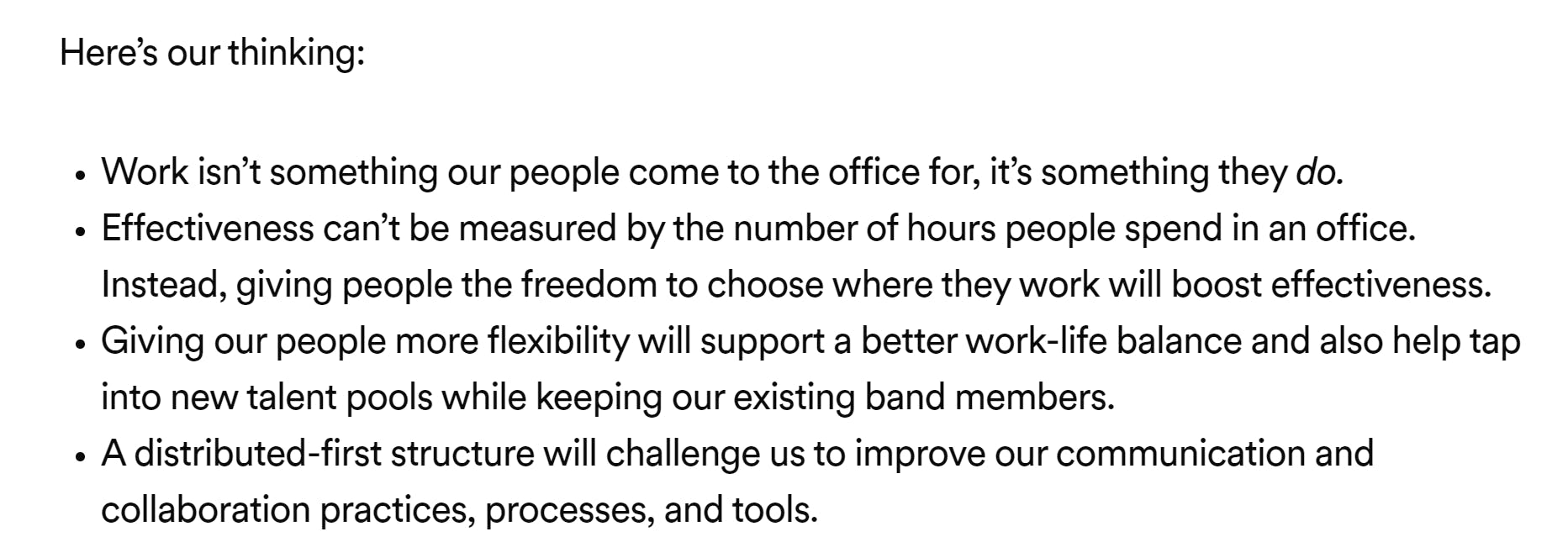 Quote from Spotify release statement