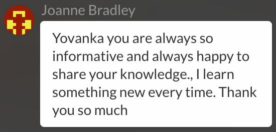 Yovanka you are always so informative and always happy to share your knowledge., I learn something new every time. Thank you so much