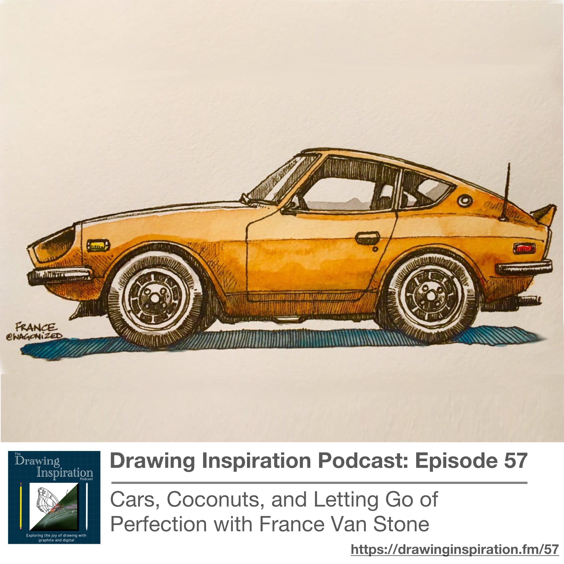 Cars, Coconuts, and Letting Go of Perfection with France Van Stone