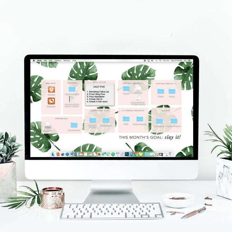 New Desktop Organizer March Edition