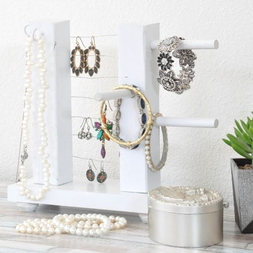 Diy Jewelry Holder How To Build A Simple Organizer Anika S Diy Life
