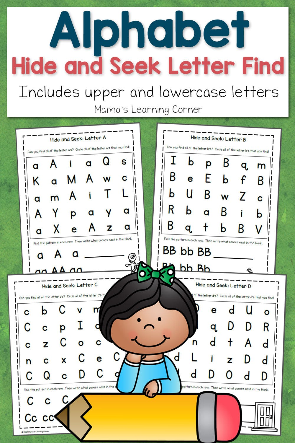 ABC Hide and Seek Letter Find for Preschoolers - Mamas ...