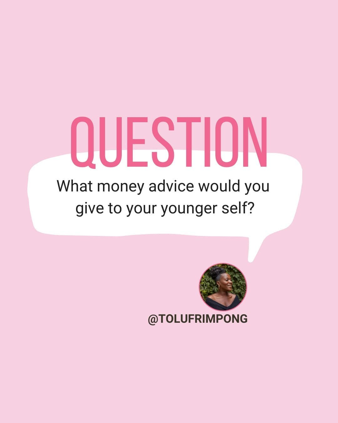 There's so much I would tell her (though I doubt she would listen 😂)  I think top of the list would be, just becuase it's within your means, it doesn't mean you need to buy it. Be intentional with where and how you spend your money.   What money advice would you give to your 21 year old self?  LIKE ❤️⠀⠀ COMMENT ⬇️🔥⠀ TAG A FRIEND 🐻⠀ 👉🏿Follow @tolufrimpong for more money-saving tips and motivation👈🏿 . . . . #personalfinanceuk #moneyadvice #moneymotivation #blackpfcommunity #debtfreecommunityuk #ukdebtfreecommunity #debtfreecommunity #debtfreelifestyle #debtfreeblackgirl #debtfreeuk #financialwellbeing #intentionalfinance #financeforwomen #letstalkmoney #financetalk #livebelowyourmeans #financialwisdom #moneycoach #moneysavingtips #millenialmoney #moneymotivation #journeytofinancialfreedom #journeytomortgagefreedom
