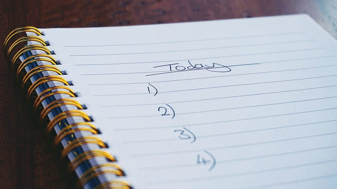 Today, I'm crossing off creating a sales page off my to-do list. What are you crossing off your list?