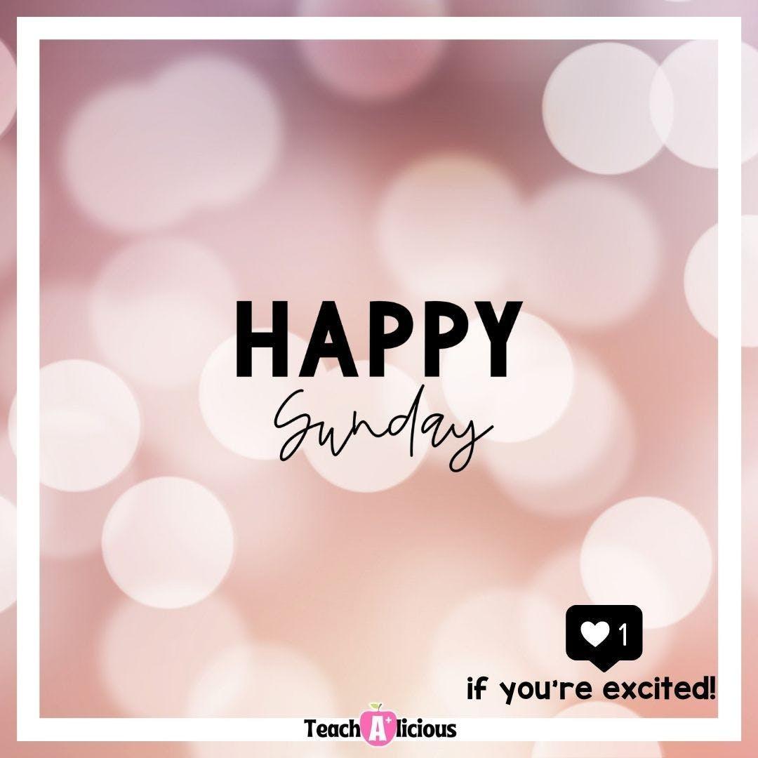 It's Sunday! It's shiny. It's going to be a lovely day.  #sunday #mood #teacherlife #worklifebalance #relax #subdayfunday