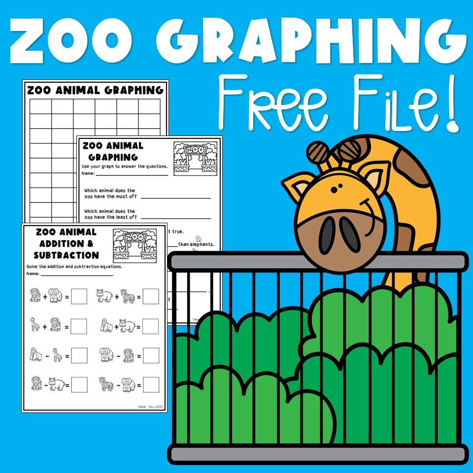 Zoo Lesson Plans Plus a Free File! 2