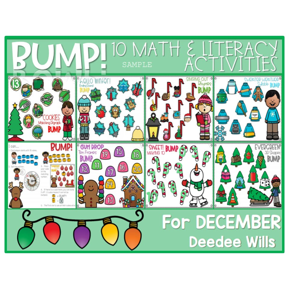 Are you ready for December? Ideas and Resources ... plus a free file! 1