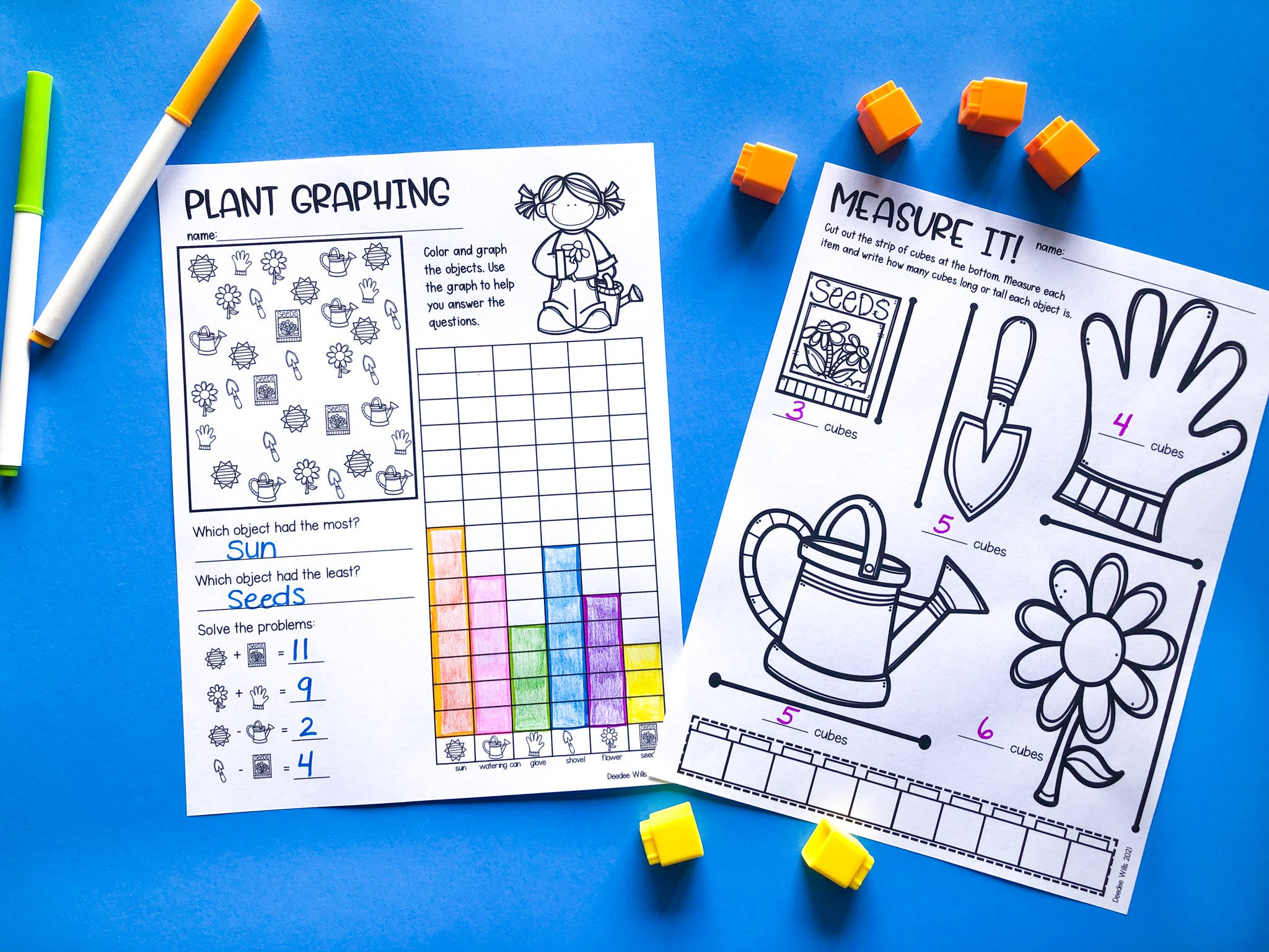 Learning About Plants in Kindergarten and 1st Grade | Plus a Free File! 30