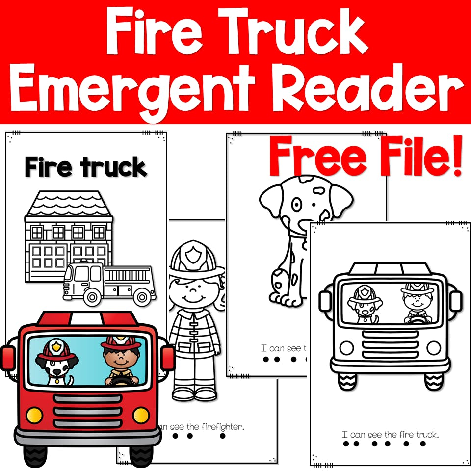 Fire Safety and a Free Emergent Reader 1