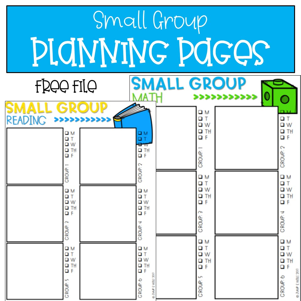 Kindergarten Math Groups Made Easy PLUS a FREE file!!! 1