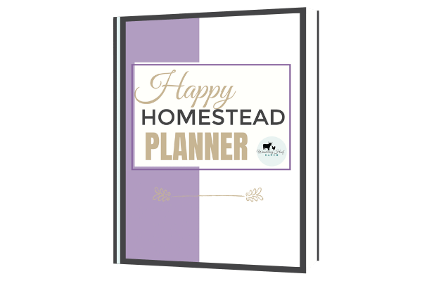 the happy homestead planner