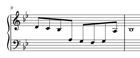 cross-staff notation