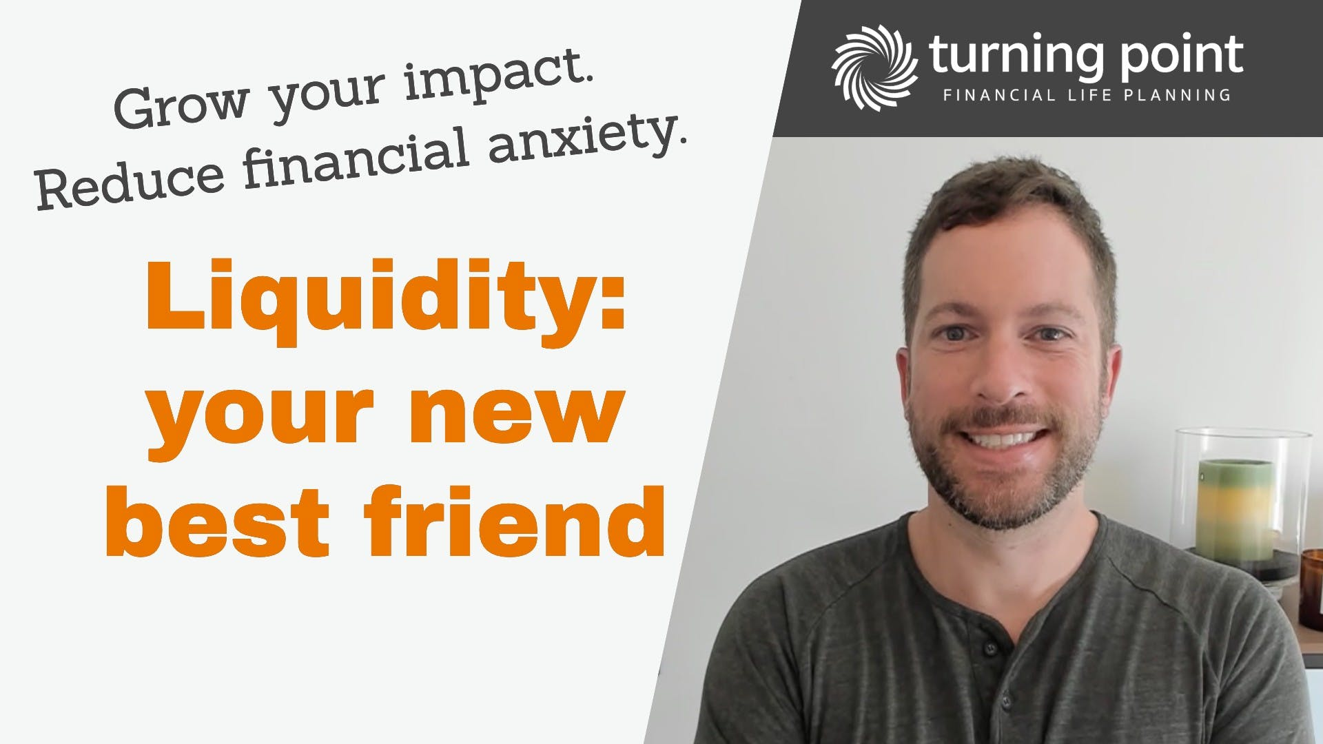 Picture of Dave thinking happy thoughts about building liquidity.