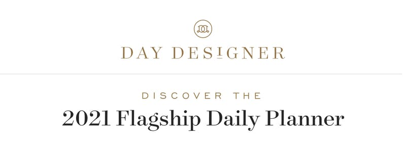Coming soon: Our newest edition of the Flagship Daily Planner!