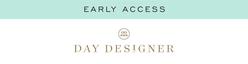 Early Access For Email Subscribers Only!