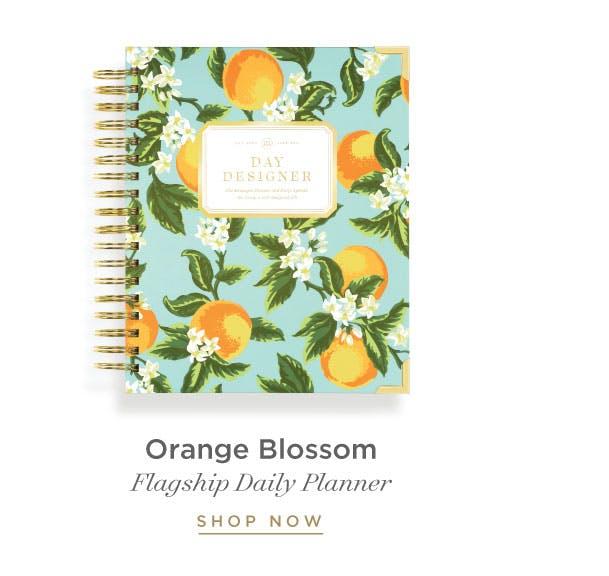 Daily Planner - Orange Blossom.