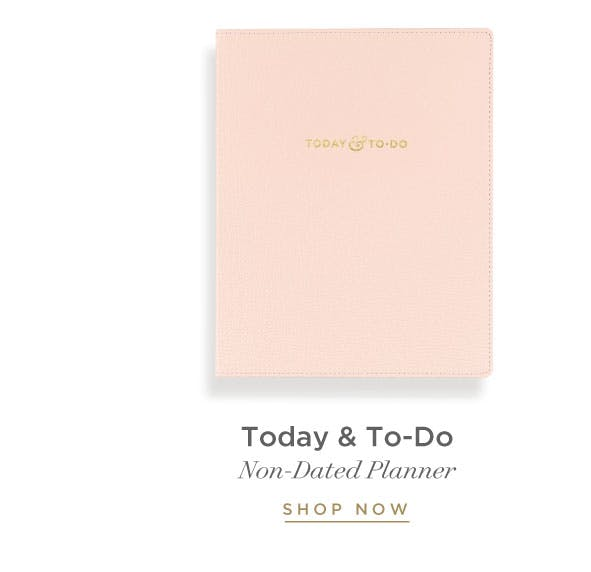 Today & To-Do Planner - Addison Blush.
