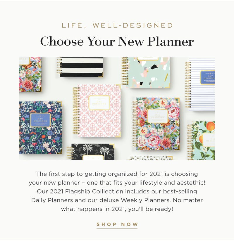 Choose Your New Planner.