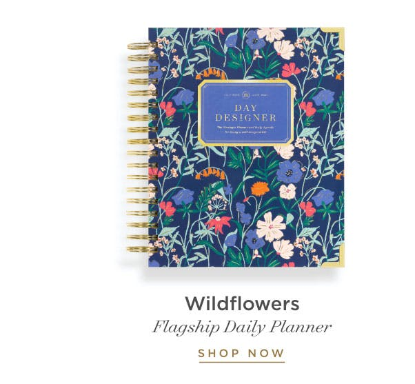 Flagship Daily Planner - Wildflowers.