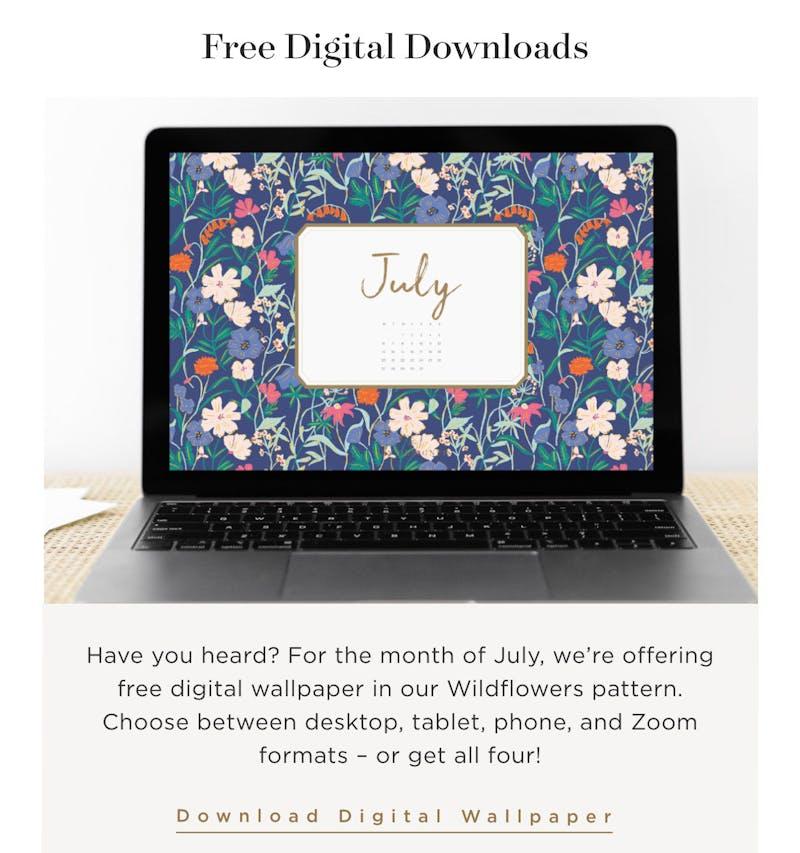 Free Digital Downloads.