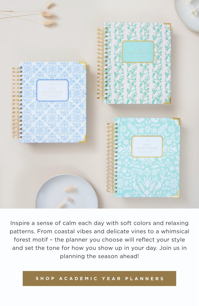 Shop Academic Year Planners.