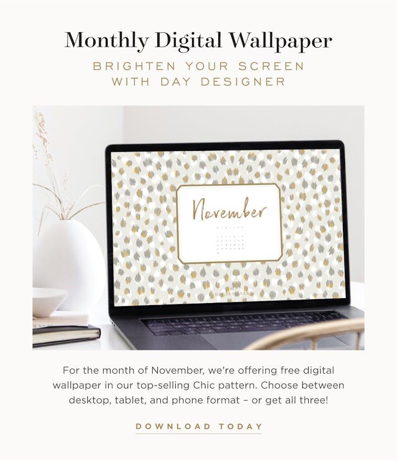 November Digital Wallpaper.