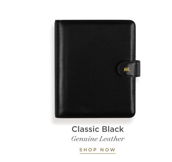 Classic Black.