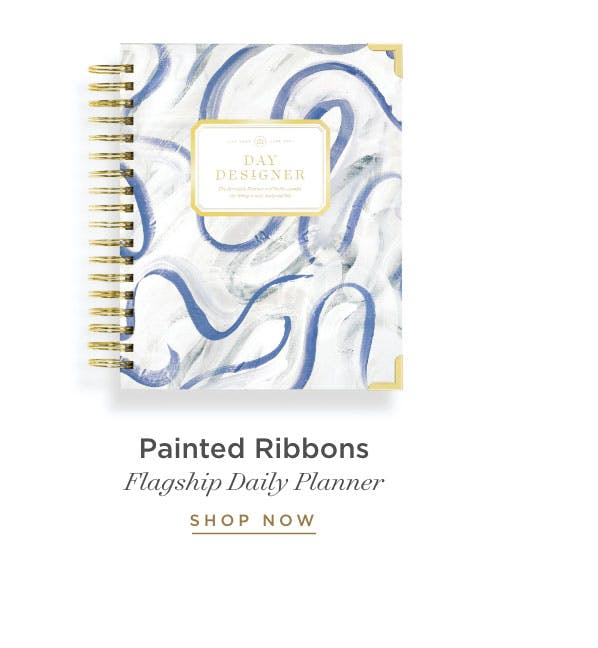 Flagship Daily Planner - Painted Ribbon.