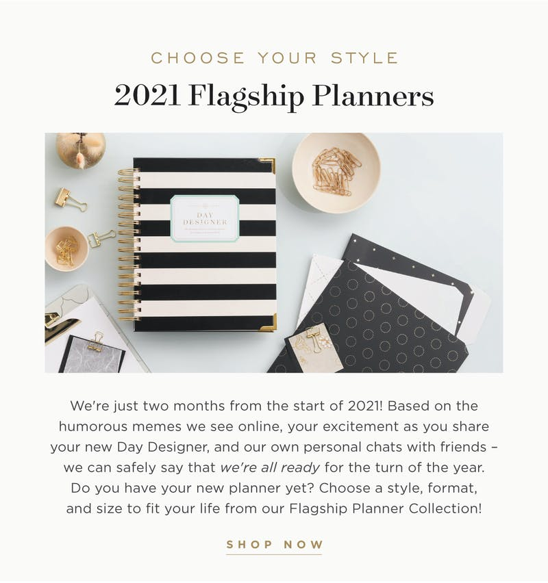 2021 Flagship Planners.